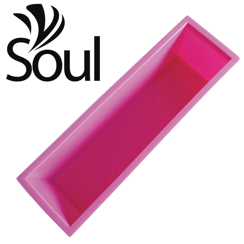 SM - 1.2kg Soap Mould single rectangular