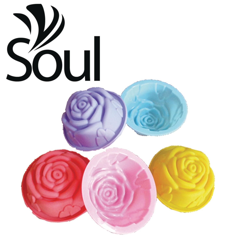 SM - 60g Soap Mould Single Rose
