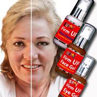 Anti Aging - Firm Up Facial Set (Face 55ml, Eye 30ml, Face Cleanser 55ml)