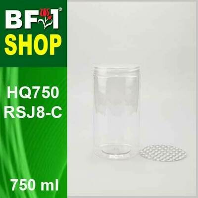 750ml - HQ750RSJ8-C - 85MM Pet Jar with