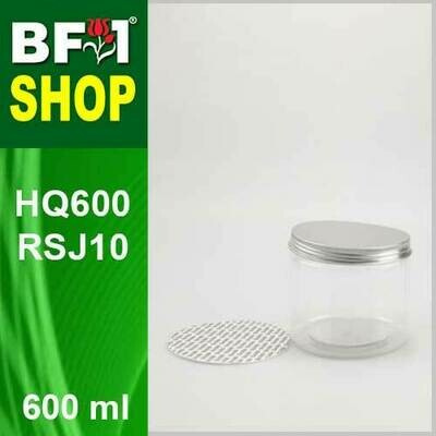 600ml - HQ600RSJ10 - 100MM Pet Jar with