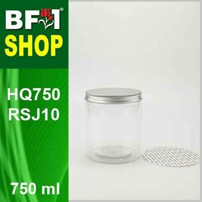 750ml - HQ750RSJ10 - 100MM Pet Jar with