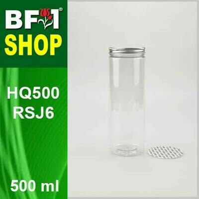 500ml - HQ500RSJ6 - 65MM Pet Jar with