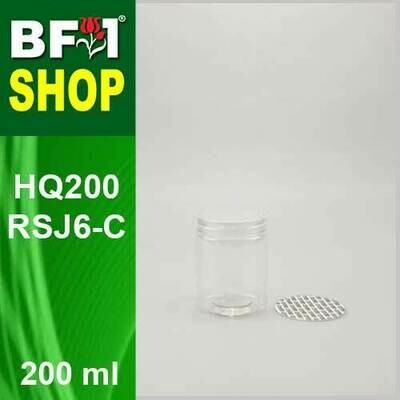 200ml - HQ200RSJ6-C - 65MM Pet Jar with
