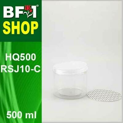 500ml - HQ500RSJ10-C - 100MM Pet Jar with