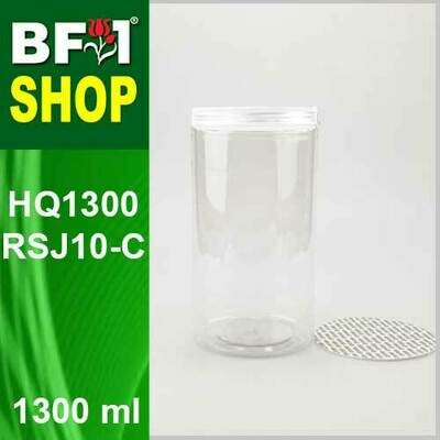 1300ml - HQ1300RSJ10-C - 100MM Pet Jar with