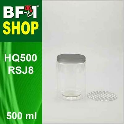 500ml - HQ500RSJ8 - 85MM Pet Jar with