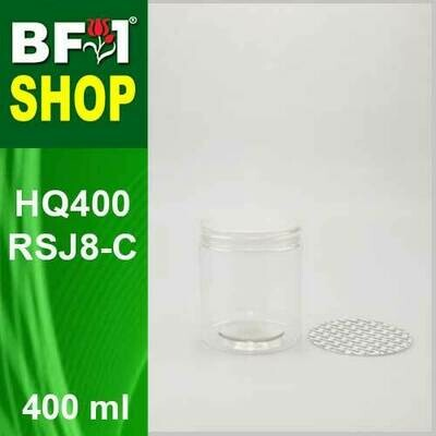 400ml - HQ400RSJ8-C - 85MM Pet Jar with
