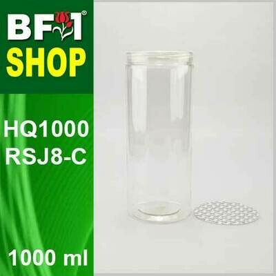 1000ml - HQ1000RSJ8-C - 85MM Pet Jar with