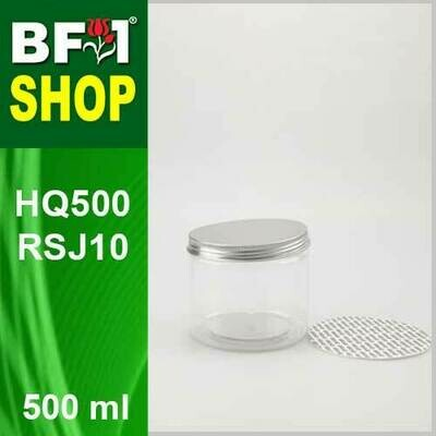 500ml - HQ500RSJ10 - 100MM Pet Jar with