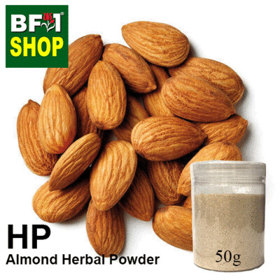 Herbal Powder - Almond Herbal Powder - 50g