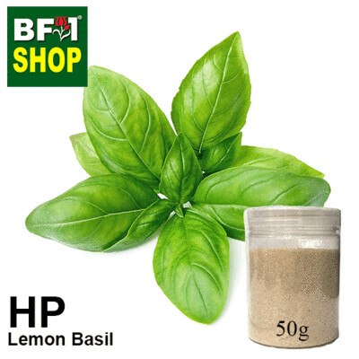 Herbal Powder - Basil - Lemon Basil Herbal Powder- 50g