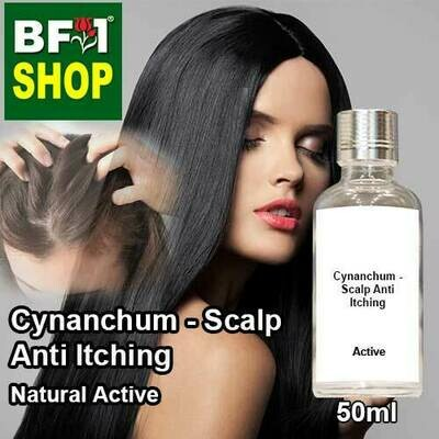 Active - Cynanchum - Scalp Anti Itching Active - 50ml