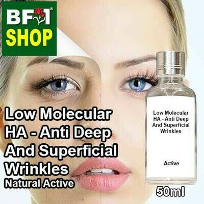 Active - Low Molecular HA - Anti Deep And Superficial Wrinkles Active - 50ml