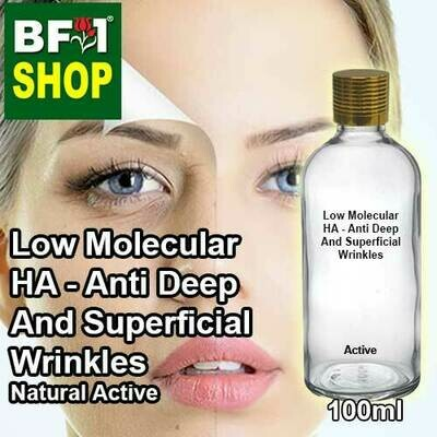 Active - Low Molecular HA - Anti Deep And Superficial Wrinkles Active - 100ml