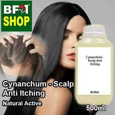 Active - Cynanchum - Scalp Anti Itching Active - 500ml