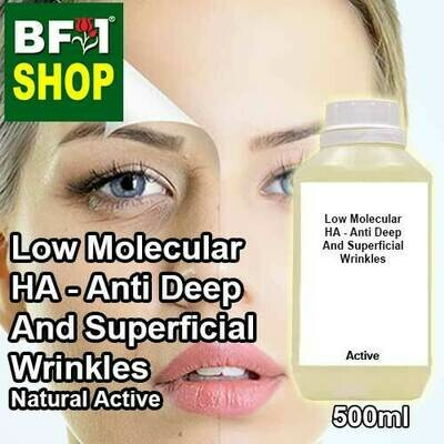 Active - Low Molecular HA - Anti Deep And Superficial Wrinkles Active - 500ml