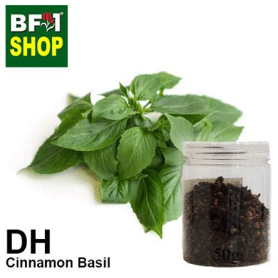 Dry Herbal - Basil - Cinnamon Basil ( Thai Basil ) - 50g