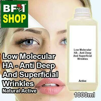 Active - Low Molecular HA - Anti Deep And Superficial Wrinkles Active - 1L
