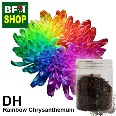 Dry Herbal - Chrysanthemum - Rainbow Chrysanthemum - 50g