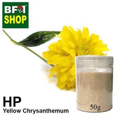 Herbal Powder - Chrysanthemum - Yellow Chrysanthemum Herbal Powder - 50g