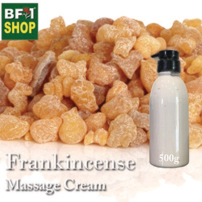 Massage Cream - Frankincense - 500g