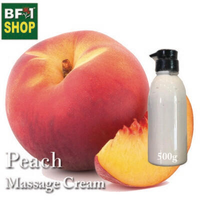 Massage Cream - Peach - 500g