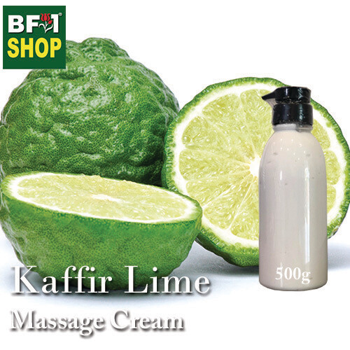 Massage Cream - Kaffir Lime - 500g