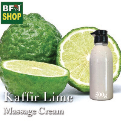 Massage Cream - Kaffir Lime - 500g