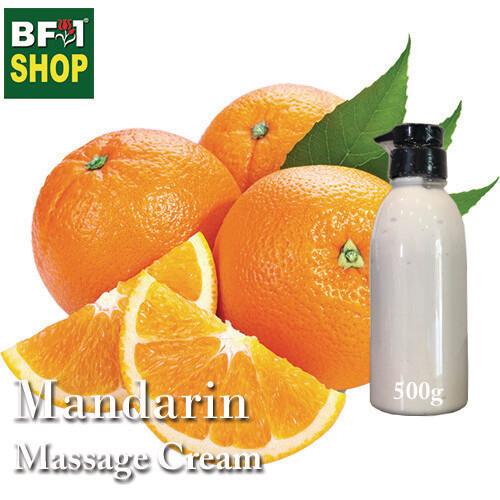 Massage Cream - Mandarin - 500g