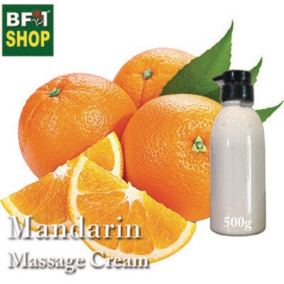 Massage Cream - Mandarin - 500g