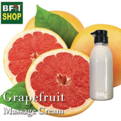 Massage Cream - Grapefruit - 500g