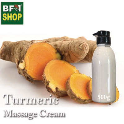 Massage Cream - Turmeric - 500g