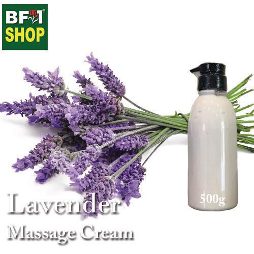Massage Cream - Lavender - 500g