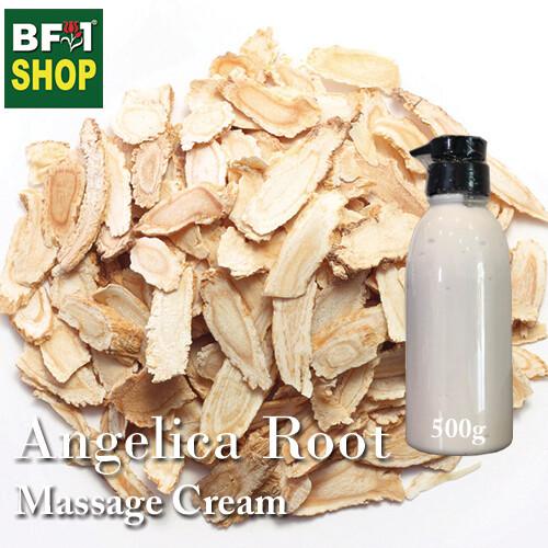 Massage Cream - Angelica Root - 500g