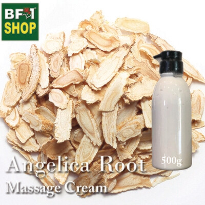 Massage Cream - Angelica Root - 500g