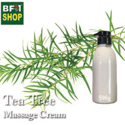 Massage Cream - Tea Tree - 500g