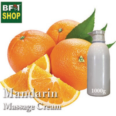 Massage Cream - Mandarin - 1000g
