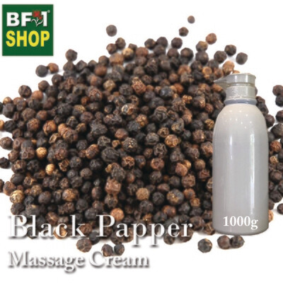Massage Cream - Black Papper - 1000g