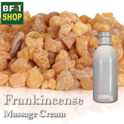 Massage Cream - Frankincense - 1000g