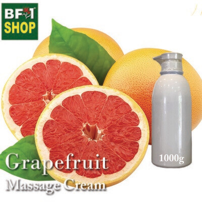 Massage Cream - Grapefruit - 1000g