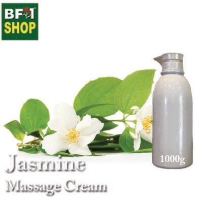 Massage Cream - Jasmine - 1000g