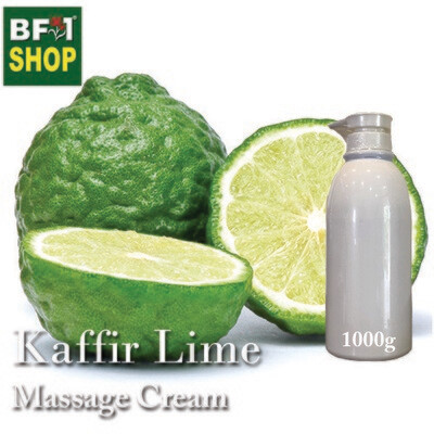 Massage Cream - Kaffir Lime - 1000g