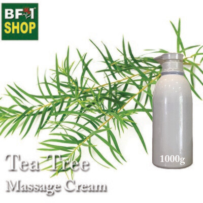 Massage Cream - Tea Tree - 1000g