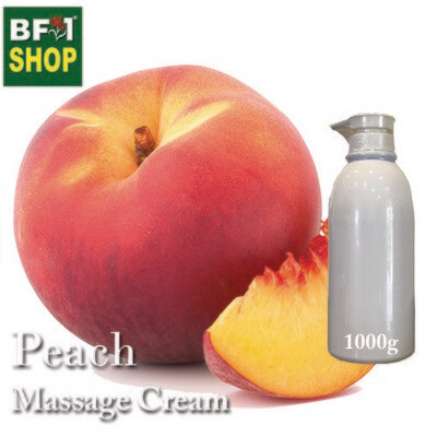 Massage Cream - Peach - 1000g