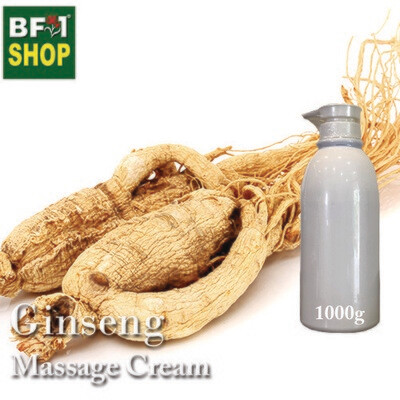 Massage Cream - Ginseng - 1000g