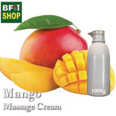 Massage Cream - Mango - 1000g
