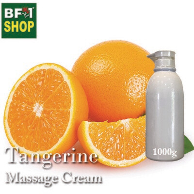 Massage Cream - Tangerine - 1000g