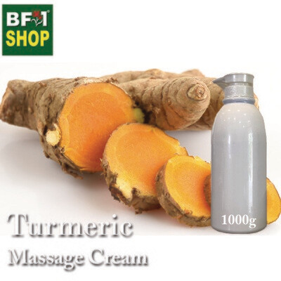 Massage Cream - Turmeric - 1000g