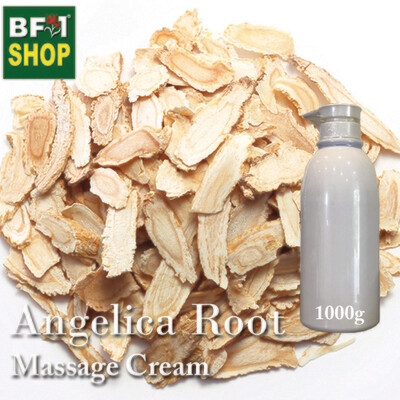 Massage Cream - Angelica Root - 1000g